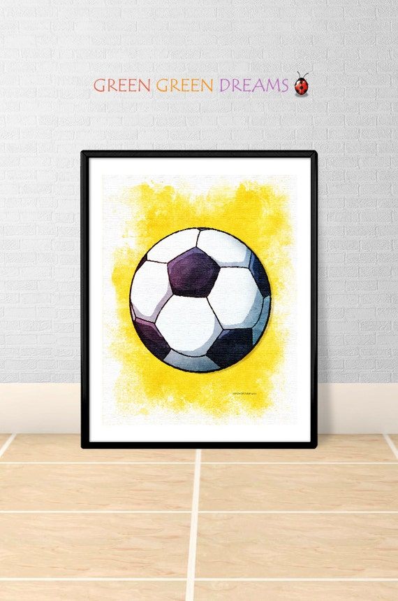 Soccer Football Sports Print Poster Wall Art Decor Download