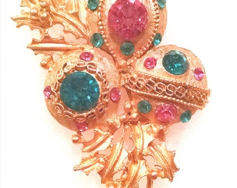 Christmas Ornament Brooch