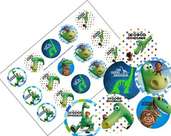the good dinosaur bottlecap image ready to print bottle cap