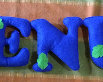 Personalised Felt Name Banners