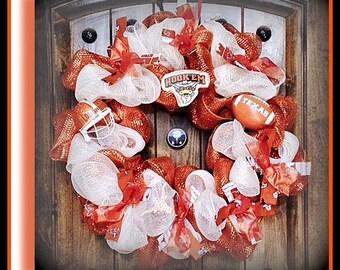 Texas Longhorns Wreath