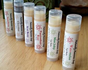 50 Chapsticks 15% Off, Extra Healing/Moisturizing, Party Favors, Gift, Bridal Shower, Bulk Vegan Lip Balm, Vegan Chapstick, Bulk Chapstick