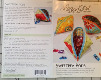 SweetPea Pods Pattern by Lazy Girl - LGD135