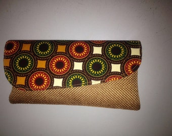 African Style Clutch bag