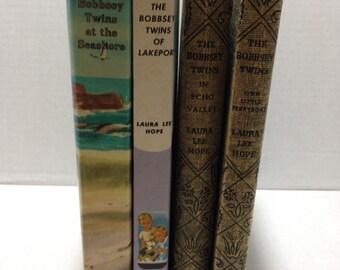 Vintage Bobbsey Twins Books (set3)