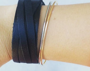 Blank Leather Ninevah Bracelet