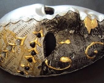 Venetian Ceramic Handmade  Mask Wall Decoration