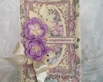 Floral-Feminine Card