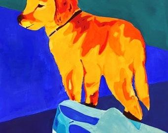 Custom Gouache Pet Painting