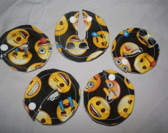 Gtube GJ PEG Button Cover Pads Medical Gastrointestinal Feeding set of 5 Emogie - Made Ready to Ship