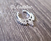 Silver Faux Septum Ring / Faix Septum Ring / Nose Ring