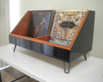 record player stand and vinyl storage. Black Bedroom Furniture Sets. Home Design Ideas