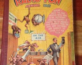 1951 Radio Fun Annual - in good condition