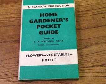 The Home Gardener's Pocket Guide 1955