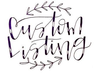 for Jess // wedding chalkboards
