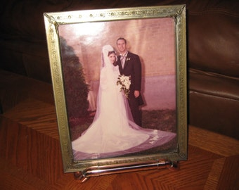 Copper Picture Frame Stand