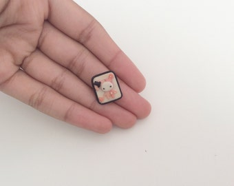 Tiny Shappo (Sentimental Circus) Magnet - Handmade From Polymer Clay
