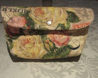 Steampunk Rose Make-Up Bag