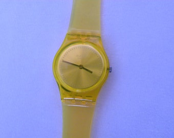 Orange Vintage Swatch Watch