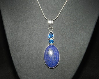 CLEARANCE *FT704 Beautiful Lapis Necklace