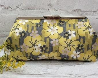 Clutch bag, Evening clutch bag, Wedding clutch, Handbag, Day clutch, Summer clutch bag, Floral clutch, Gifts for her, Bag,