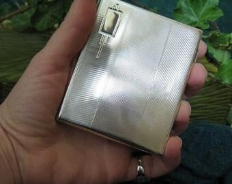 Sterling siver cigarette case