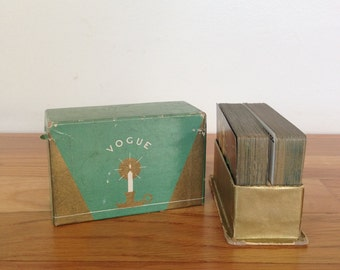 Vintage Double Deck Playing Cards