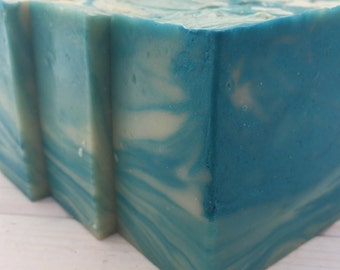Blue Skies Soap, Handmade Vegan Soap with Shea Butter