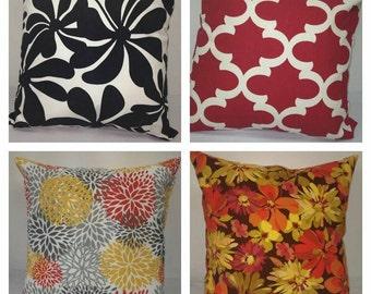 Decorative indoor/outdoor pillows