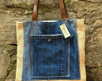 BAG (collection recycled jeans bag)