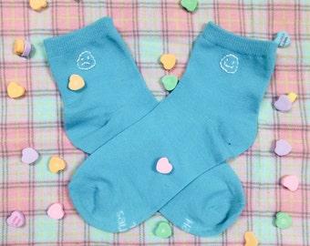 Happy and Sad sock