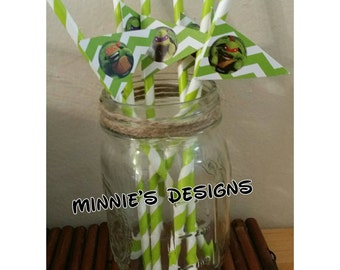 Teenage mutant ninja turtles birthday, CLEARANCE ninja turtles straws , ninja turtles birthday,  ninja turtles shirt, ninja turtles invite