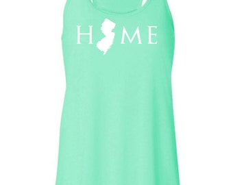New Jersey home tank top, Your state tank, New Jersey shirt, New Jersey tank top, New Jersey home, New Jersey home T
