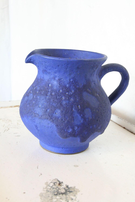 west german pottery jug by HOY Hartwig Heyne pottery