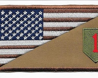 1st Infantry Division Afghanistan & Iraq United States Army Desert Patch