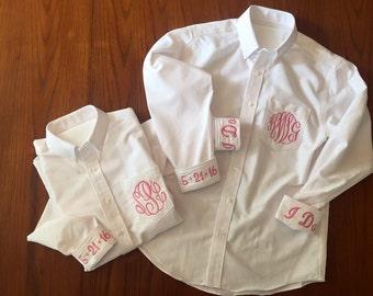 Custom Bride/Bridesmaid Oxford Shirt