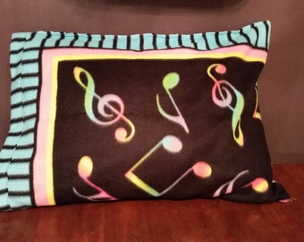 Musical Fleece Pillowcase