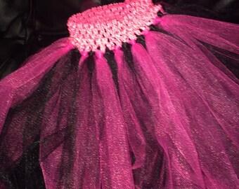 Pink/black tutu