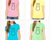 Women's Easter Shirt - Peeps Bunny