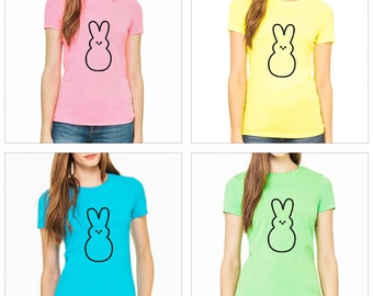 Women's Easter Shirt - Peeps Bunny