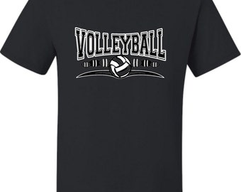 Adult Volleyball Cool Design T-Shirt