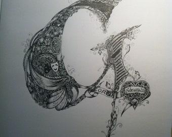 Custom Illustration 'G'