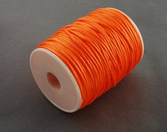 3m satin ribbon satin cord Orange