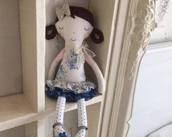 Fabric doll Jill