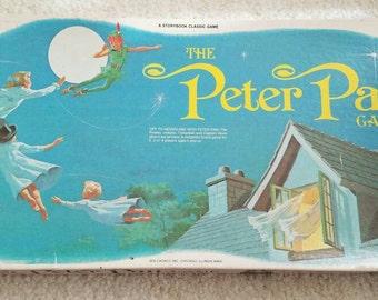 Vintage The Peter Pan Board Game 1976!