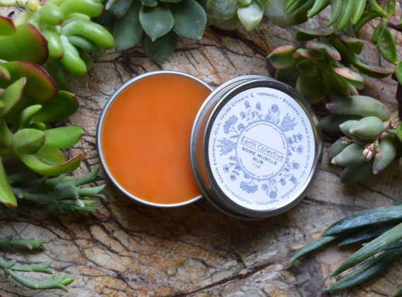 Sore Muscle Rub-Organic Sore Muscles-Gift for him-Pain Salve-Natural Tiger Balm-Natural Pain Relief for Arthritis-Fibromyalgia-Cayenne