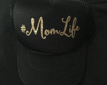 Momlife trucker hat, Mom life trucker cap, Momlife, Mom Life Trucker Hats