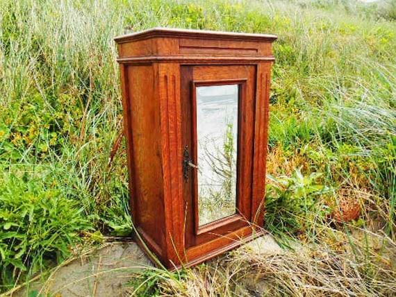 Rustic Bathroom Wall Cabinet Unique Storage By