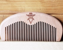 Honest Outlaw - Wooden Comb For Grooming Your Tash and Beard