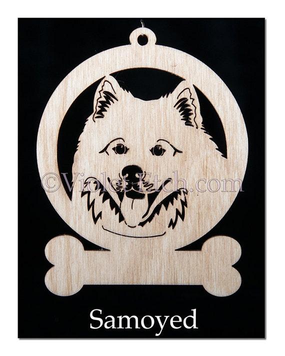 Samoyed-Samoyed Ornament-Samoyed Gift-Free Personalization